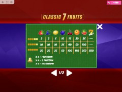 Classic7Fruits tragamonedas77.com MrSlotty 5/5